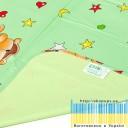 Пелёнка двусторонняя непромокаемая  Бязь  Premium  р.50х70 см-11