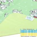 Пелёнка двусторонняя непромокаемая  Бязь Premium  р.65х90 см-6
