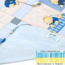 Пелёнка двусторонняя непромокаемая  Бязь Premium  р.65х90 см-2