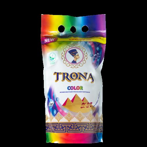 Безфосфатный стиральный порошок Trona Color 1кг