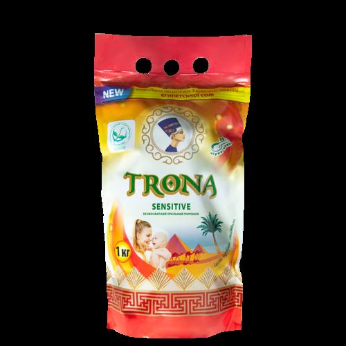 Бесфосфатный стиральный порошок  Trona Sensitive 1кг
