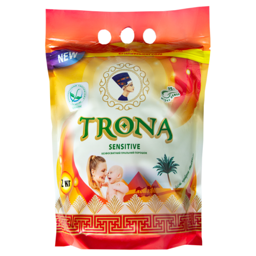 Бесфосфатный стиральный порошок  Trona Sensitive 2кг