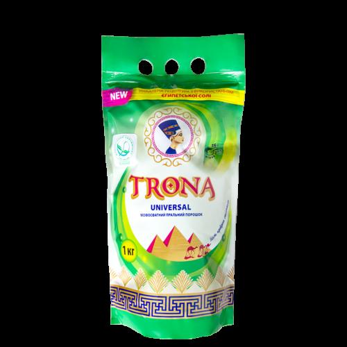 Бесфосфатный стиральный порошок Trona Universal 1кг