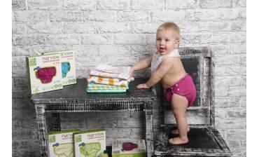 Многоразовые трикотажные подгузники - эко уход за малышом. Тренд 2018.